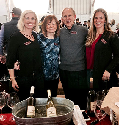 Ellis family at San Francisco Chronicle Wine Competition 2019