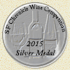 2015 San Francisco Chronicle Wine Competition Silver Medal Winner